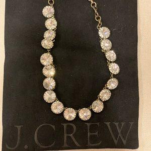 JCrew crystal necklace